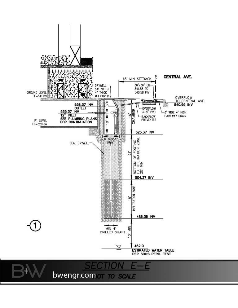 drywell-section