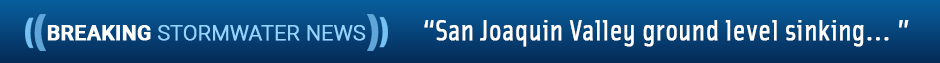 San Joaquin Valley ground level sinking